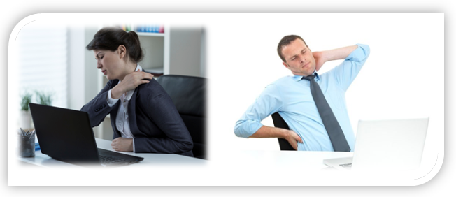 Massage for a sedentary job